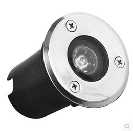 Wholesale 1w Led Underwater Light - Wholesale- LED underground light 1W 12V Waterproof IP65 100LM White   Warm LED Underwater Pool Light Lamp Fountain Free Shipping