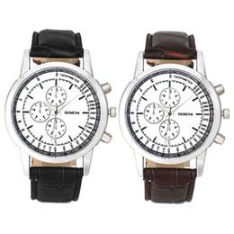 Wholesale Leather Belts Men Cheap - Xiniu 2017 Geneva Men watch Luxury Brand Watches Quartz Clock Fashion Leather belts Watch Cheap Sports wristwatch
