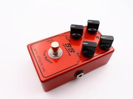 Wholesale Electric Boost - Free Shipping Custom BB Guitar Effect Pedal Overdrive And Boost And True Typass Musical Instruments Free shipping