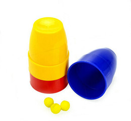 Wholesale Returned Toys Wholesale - Three Balls Return Cups Magic Toy Magic Props Magie Tricks Props Magia Show YH155