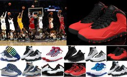 Wholesale Bulls Training - Hot Sale 10 10s Bulls Over Broadway Basketball Shoes Cheap Sports Shoes Training Boots Top Quality Sneakers 11 12 13