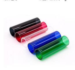 Pyrex di sostituzione per kanger online-Chiaro pyrex Tubo di vetro di ricambio per Kanger kangertech 5.0 ml CUPTI atomizzatore kit di avvio serbatoio