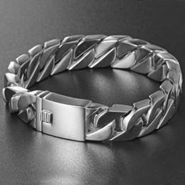 Wholesale Spikes Bracelet For Men - Cool Style Silver Gold Rice Spike 316L Stainless Steel Bracelet 22mm Length 15mm Width For Men Women Gifts