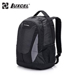 Wholesale Dresses For Teenagers - Wholesale- Luxcel Men Backpack For Student Teenager School bag Men Casual Daypacks travelling bag Campus style Backpack
