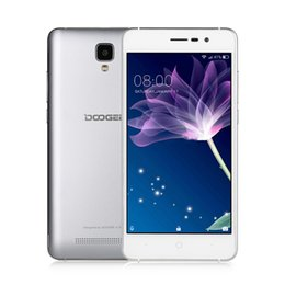 """Wholesale Gsm Phones Dual - DHL Ship! 5.0"""" DOOGEE X10 Mobile Phones IPS Android6.0 smart phone Dual SIM 1.3GHz 5.0MP 3360mAH WCDMA GSM cellphone"""