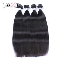 Wholesale Top Quality Remy Brazilian Hair - Brazilian Straight Virgin Human Hair Weaves Bundles Top Quality Indian Cambodian Mongolian Peruvian Malaysian Remy Hair Extensions Soft FULL