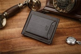 Wholesale Mens High Design Wallets - 2017 New mens brand design leather luxury purses wallet short cross high quality wallets for men free shipping DHL