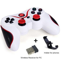 Wholesale Android Tablet Game Console - High Quality Wireless Bluetooth Gamepad Game Controller Handle Remote Joystick For Android Tablet Came Console For SmartPhone