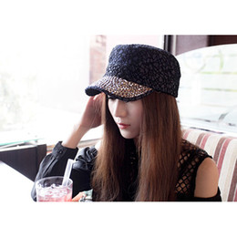 Wholesale New Fashion sport caps snapback outdoors women s sun hat active summer lace and crystal stones decorated