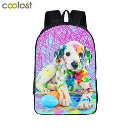 Wholesale Baby Zoo Backpack - Rottweiler Bag Zoo Backpack for Teenagers kawaii Rose Toddler School Bags for Girls Boys Pet Dog Baby Backpack Children Book Bag