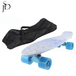 Wholesale Wholesale Cruiser Boards - Wholesale- Portable 7 Inches Longboard Hoverboard Bag Skateboard Hover Peny Board Bag Cruiser Backpack Scooter Handbag For Roller Skating
