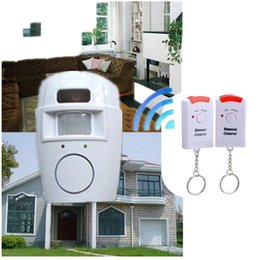 Wholesale Home Security System Motion Detector - IR Alarm systems Infrared sensor Security Detector Home System 2 Remote Control Wireless Motion Sensor Alarm Security Detector New