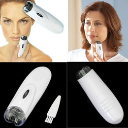 Wholesale Trimming Facial Hair Women - Hot Professional Electric Pull Tweeze Device Women Hair Removal Epilator Facial Trimmer Depilation Feminine Hygiene Product