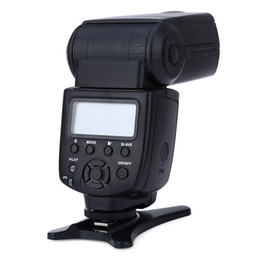 Wholesale Universal Lcd Mount - Wholesale- JY-680A Universal LCD Manual Flash Speedlite Light for Any Digital Camera with Standard Hot Shoe Mount and Free Bounce Diffuser