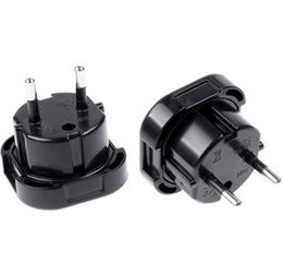 Wholesale European Uk Plug - New UK TO EU EUROPE EUROPEAN UNiVERSAL TRAVEL CHARGER ADAPTER PLUG CONVERTER 2 PiN Wall Plug Socket