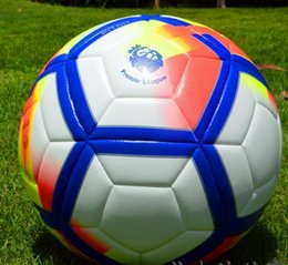 Wholesale Pvc Soccer Ball Football - Promote football in 2016-2018 PVC football rules 11 five 5 standard ball adhesive volleyball training Free shipping
