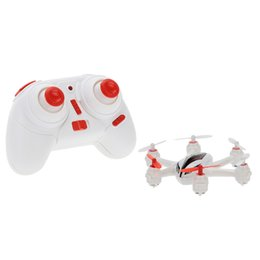 Wholesale Tracker Led Lights - Wholesale- Original WLtoys Tracker Q272 White 2.4GHz 4CH 6-axis Gyro RC Quadcopter RTF Mini Drone with 3D Flips Headless Mode and LED Light