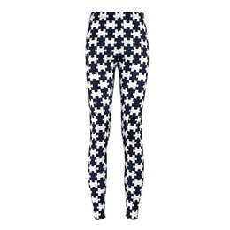 Wholesale Leggings Cross Girls - Wholesale- Hot Sales Plus Size Women Sport Running Gym Pants S To 4XL Cross star Pumpkin Printing Black White Leggings For Women Girls