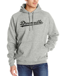 Wholesale Hipster Hoodie - Wholesale-2016 autumn hipster Dreamville J. COLE sweatshirts winter harajuku Men hooded hip-hop brand tracksuits male kpop fashion hoodies