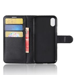 Wholesale Card Case Phone Stand - Leather Wallet case With card slot cash pocket Phone Stand for Iphone X Iphone 8 Plus Goophone I7 I6 Samung S8 Note 8 cell phone cases