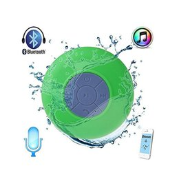 Wholesale Mp3 Crystal Retail Box - Best Price BTS-06 Handfree Waterproof Wireless Bluetooth Shower Mini Speaker With Sucker For Cars Vehicles Smartphone Crystal Retail Box