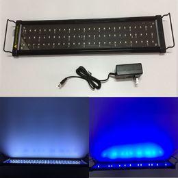 """Wholesale Led Light Aquarium 24 - Aquarium Fish Tank SMD LED Light Lamp White + Blue 2 mode Extendable 24"""" Lights"""
