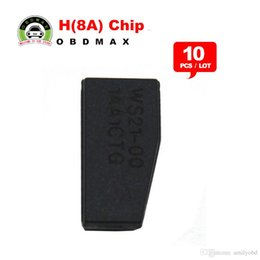 Wholesale Toyota Rav4 Car Keys - [10pcs lot]Car Key Chips, Transponder 128 Bit H (8A) Chip for Toyota Rav4 Camry 2013-2015