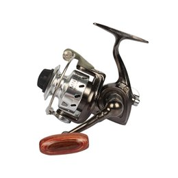 Wholesale Smallest Ice Fishing Reel - Mini Fishing Reel Palm Size Metal Coil Ultra Light Small Spinning Reel For Ice Fish Pen Fishing Rod Molinete Pesca
