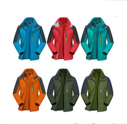 Wholesale Men S Work Clothing - Manufacturers of two-piece three-in-one Jackets can be demolished outdoor climbing suit men and women with the overall work clothes