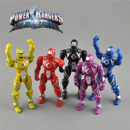 Wholesale Dragon Power - 5 Rendezvous Action Charts Power Rangers Dragon Crews with lights to move dolls to do dolls toys 14cm