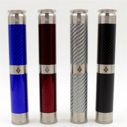 Wholesale E Cigarette Tube Mod - E-cigarette Mods AV SS Edition Able V2 Double Tube Extended Edition Mechanical Mod 24mm Diameter 18650 Vape Mods for 510 RDA Atomizers