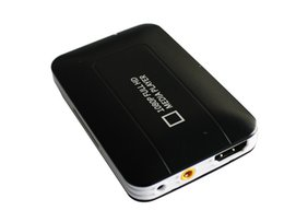 Wholesale Dvd Player Usb Support - Wholesale-Free shipping K5 Car HDD Media player MINI Full HD 1080P USB SD MMC support MKV DVD MPEG Player AV HDMI output Free Car adapter!