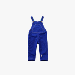 Wholesale Wholesale Children S Goods - Children jeans straps trousers baby boys in the spring and autumn fashion casual pants pants are of good quality factory outlet s - 066