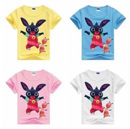 Wholesale T Shirt Kids China - Kids Clothes 2017 Summer New Arrival Baby Boys Girls Cartoon T Shirts China Low Price Children Tees Clothing