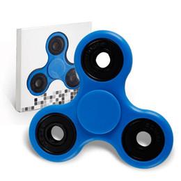 Canada EDC Main Spinner Fingertips Doigts Fidget Spiral HandSpinners Acrylique Plastique Fidgets Cube Dépression Jouets Fingertip Gyro Avec Boîte De Détail Offre