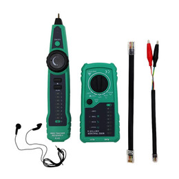 Wholesale Telephone Testing Test Cable - PTF869 Multifunction Wire tracker Network Cable Tester Telephone Cable Test with Wire Continuity Checking Function Sound tips