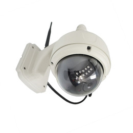 Wholesale Megapixel Ip Camera Ptz - tutk 20uid MegaPixel 1.3m HD PTZ IP Camera Wifi Wireless Outdoor Dome IP Network Camera security 960P Scurity Camera