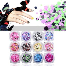Wholesale Nail Art Mixed Glitter - Fashion 2 Box 1mm-3mm Mixed Mini Round Thin Nail Art Glitter Paillette