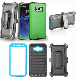 Wholesale Force Lights - Brushed Dual Layered Defender Armor Case With Belt Clip Screen Film For Sumsung G530H 5308W 5306W G550 ON5 Moto G4 G5 G5S Plus Z2 Play Force