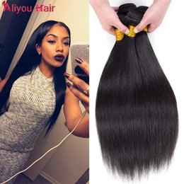 Wholesale Human Virgin - Top Grade Daily Deals Peruvian Virgin Hair Extensions Straight Human Hair Weave Bundles Unprocessed Remy Hair Wefts Best Sale Items Dyeable
