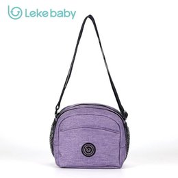 Wholesale Package Diaper - Wholesale- 2017 New Compact and lightweight Mummy bag fashion diaper bags for baby Bottle cross-package waterproof outdoor messenger HL01