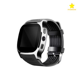 Wholesale Pets Cameras - T8 Bluetooth Smart Watch Suppot SIM&TF Card with Camera Call Message for Android with Retail Package