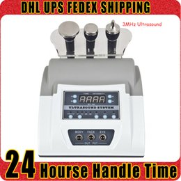 Wholesale Ultrasound Massage - Best Price 3MHz Ultrasound Skin Rejuvenation Ultrasonic Massage Face Lifting Wrinkle Removal Home Use Beauty Device