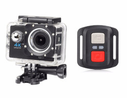 Wholesale H 264 Dv - Action Camera 2.0 inch WiFi 4K H.264 30m Waterproof 170 Wide Lens Action DV Sports Camera