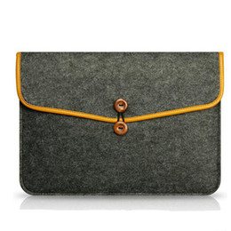 """Wholesale Wool Felt China - For Macbook Air 11""""12inch,13"""" 15""""Multipurpose Felt Wool Sleeve Bag Portable Soft Case Protection Storage Carrying Bag Travel Pouch Organizer"""