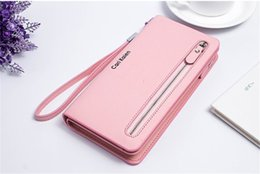 Wholesale Pvc Purse Cheap - 2017 New Fashion Women Wallets Long Zipper High Quality Wallets Cheap Elegant Purse Free Shipping Wallets Women