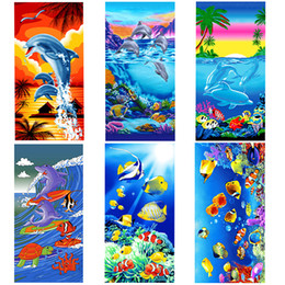 Wholesale Cute Blankets - Pikachu Print Bath Towel Cartoon Hooded Ocean Beach Themed Baby Towels Poke Cartoons Cute Kids Beach Microfiber Bath Blanket For Kids Gift