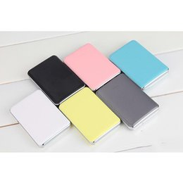 Wholesale Power Compact Lighting - 6 color 5000MAH dot, light, environmental protection, fashion, portable, business type mobile power, youthful fashion, compact and light