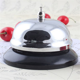 Wholesale Counter Service Bell - Wholesale-Desk Kitchen Hotel Counter Reception Restaurant Bar Ringer Call Bell Service Multifunctional Rattles Gifts for Kids Children