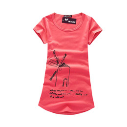 Wholesale 3d Shirts For Girls - Wholesale- Women Roupas Femininas Blusas Short Sleeve Tees Costume Clothing 3D T-Shirt For Girl Summer T Shirt New
